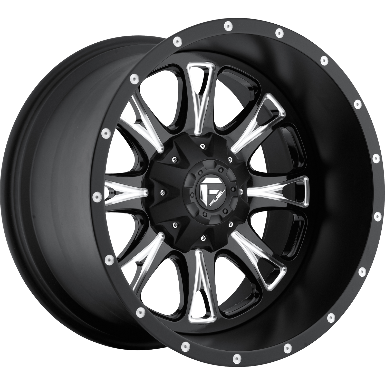 Fuel Rims 20X12 >> Fuel Throttle D513 20x12 44