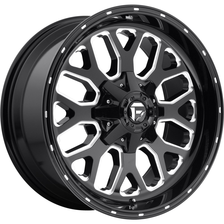 Fuel Dually Wheels >> Fuel Titan 20x9 +1mm | D58820901750 | Custom Offsets