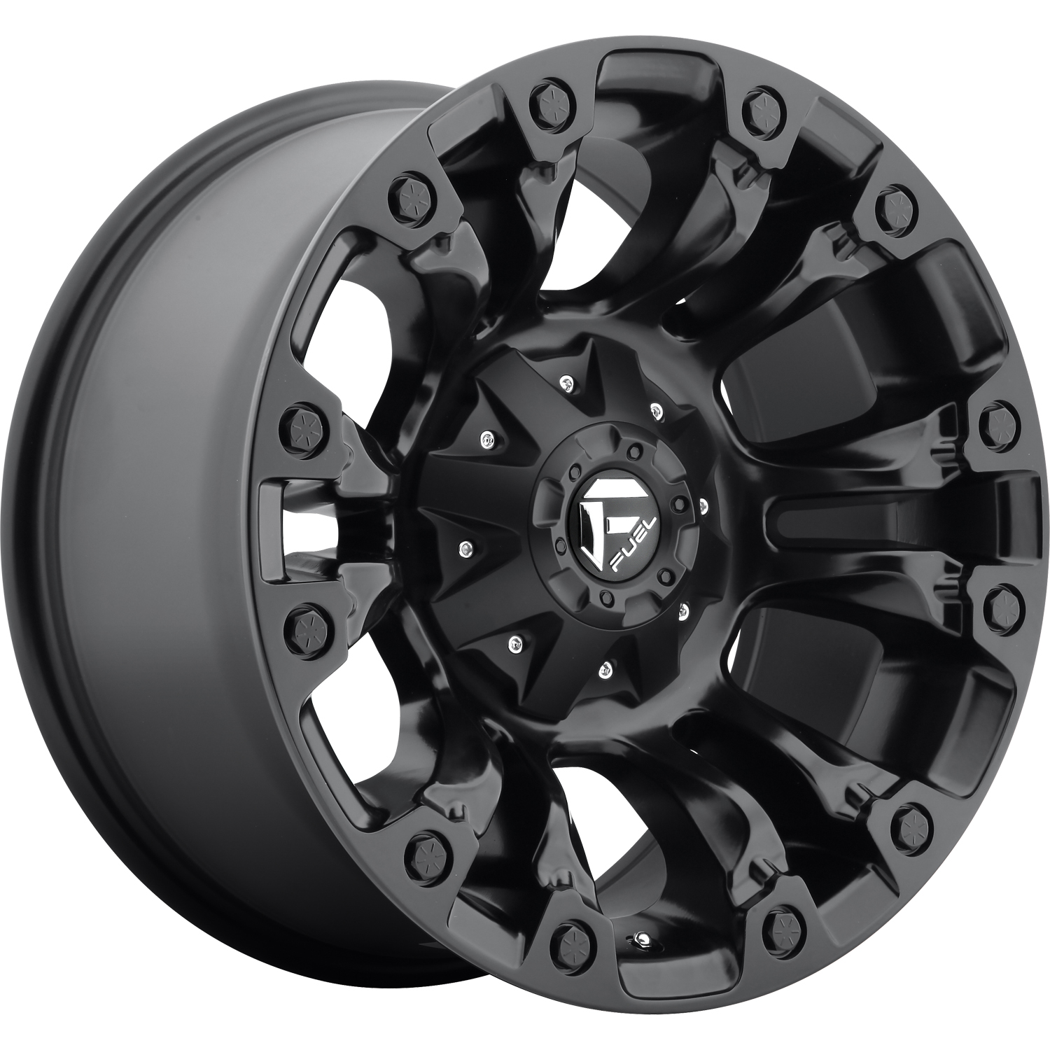 Fuel Vapor Matte Black 18x9 -13mm