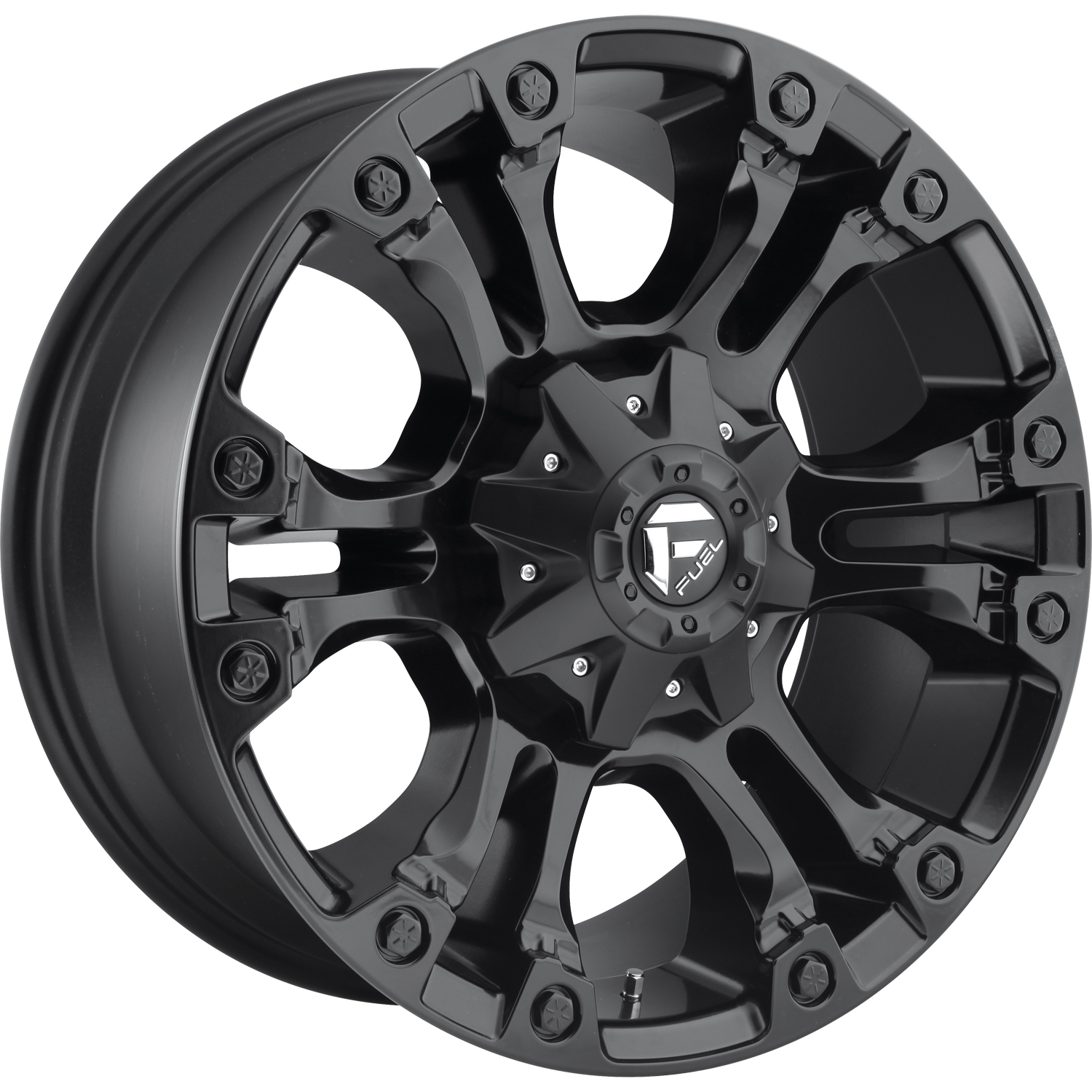 Fuel Vapor Matte Black 20x9 2
