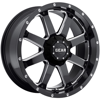 Gear Alloy Big Block 18x9 18 Custom Wheels