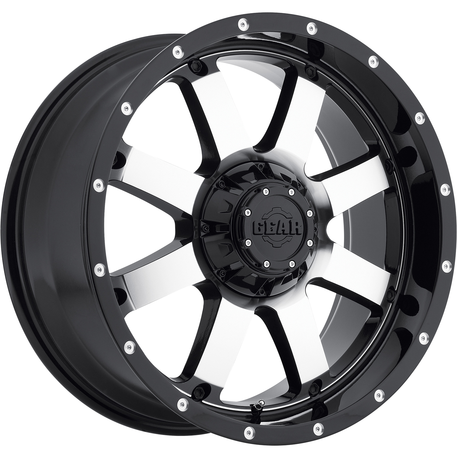 Gear Alloy Big Block 18x9 12 Custom Wheels