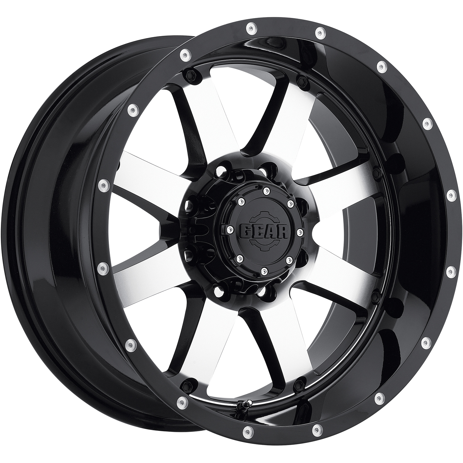 Gear Alloy Big Block 20x12 44 Custom Wheels
