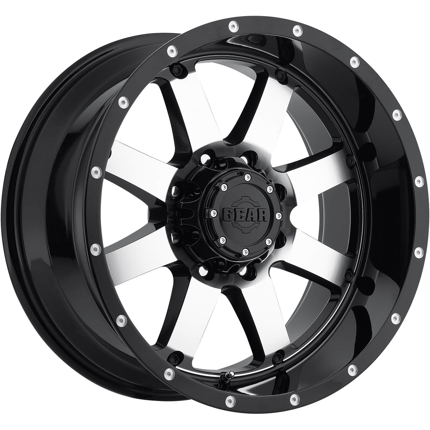 Gear Alloy Big Block 17x9 12 Custom Wheels