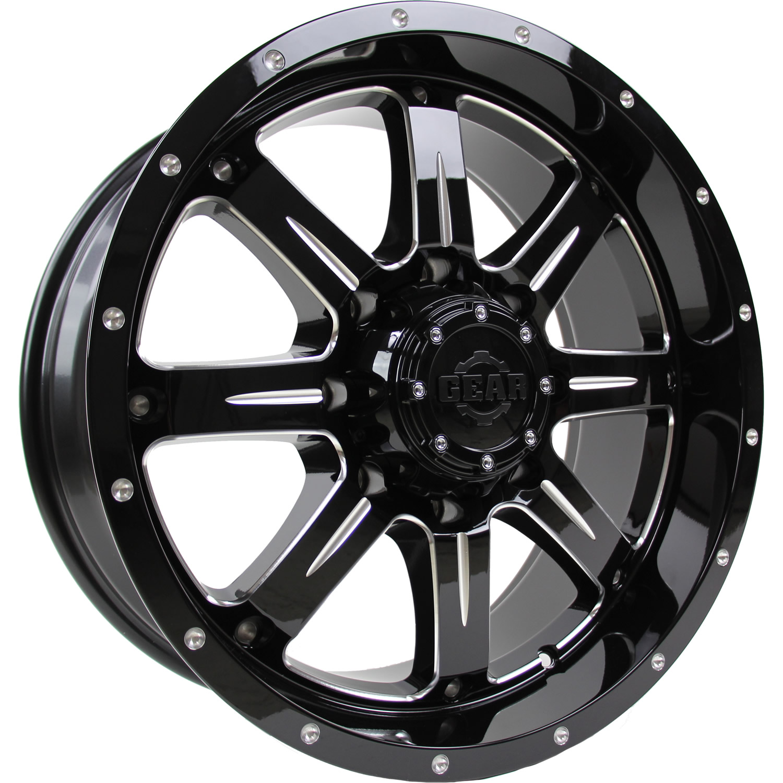 Gear Alloy Big Block 18x9 18 Custom Wheels