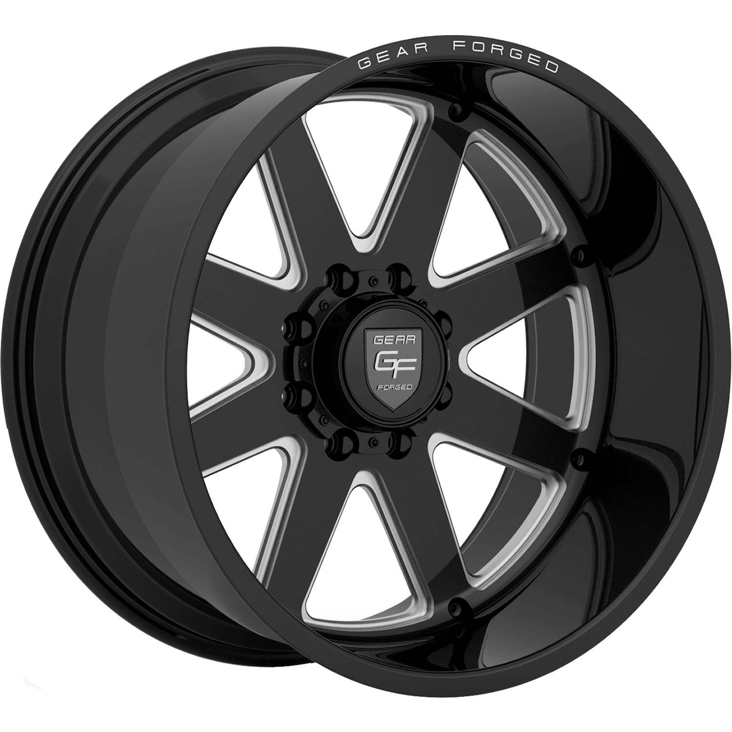 Gear Forged F70bm1 22x12 51 Custom Wheels