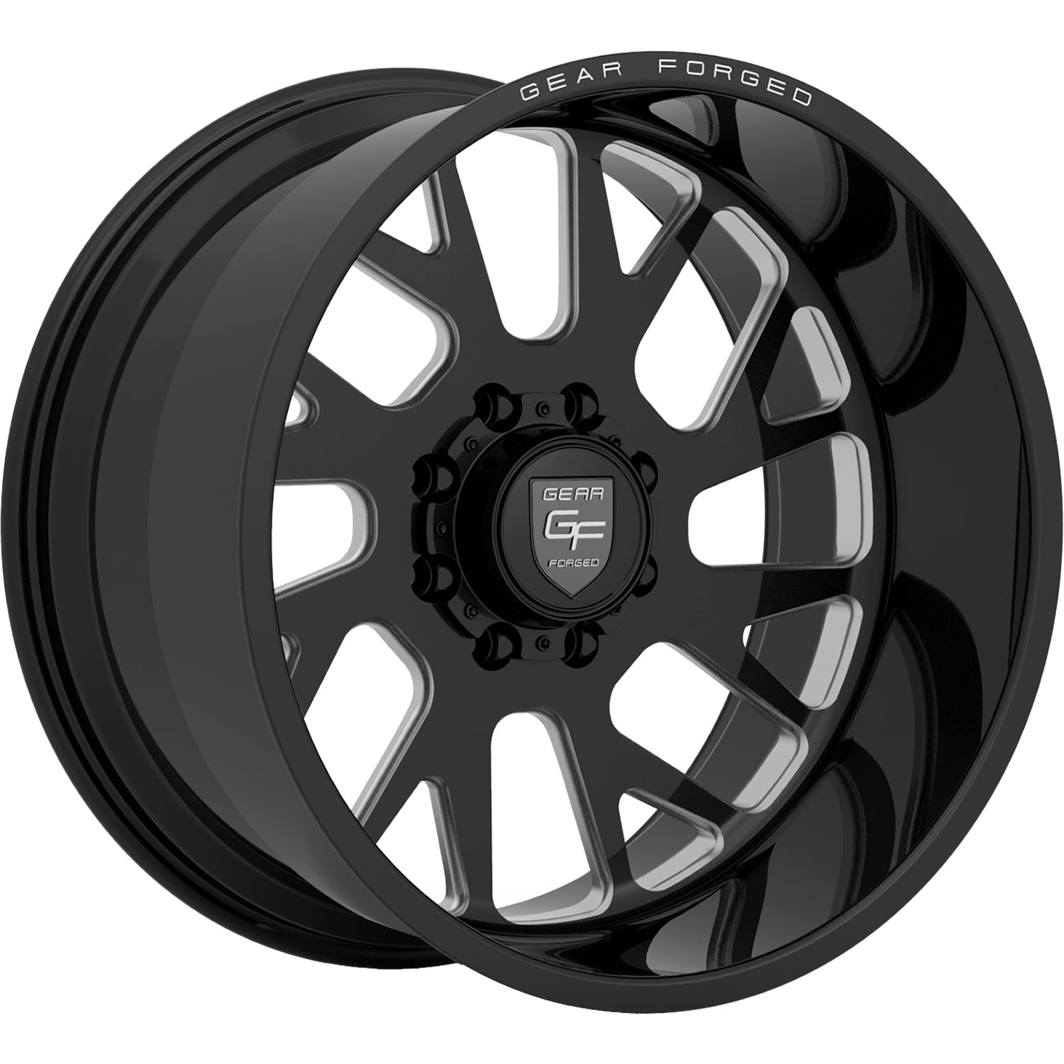 Gear Forged F71bm1 24x14 76 Custom Wheels