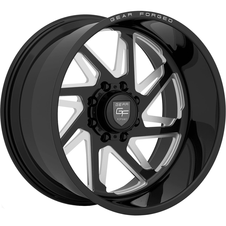 Gear Forged F72bm1 22x14 76 Custom Wheels