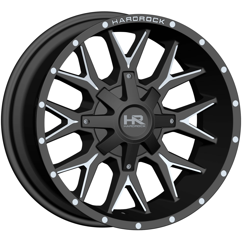 Hardrock Affliction 24x14 76 Custom Wheels