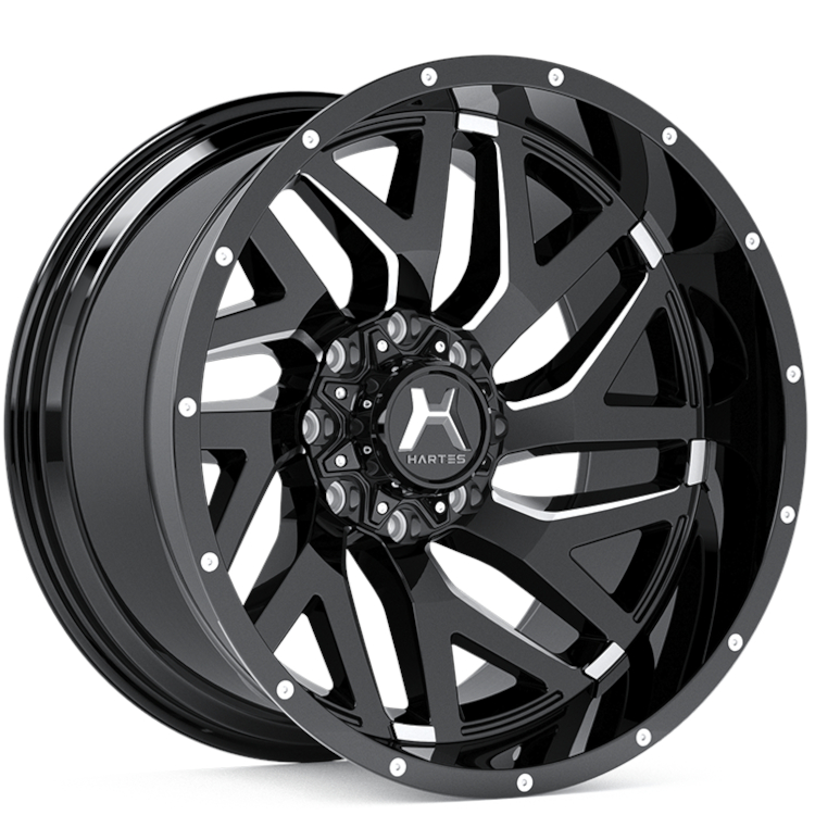Hartes Metal Offroad Stealth 22x12 -50.8