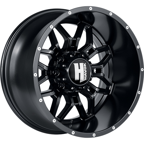Havok H109 18x9 12 Custom Wheels