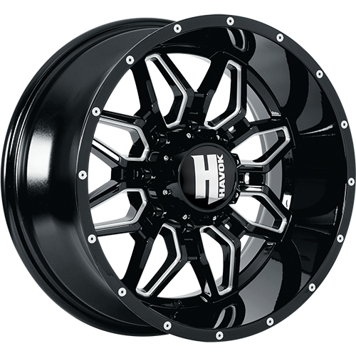 Havok H109 20x12 44 Custom Wheels