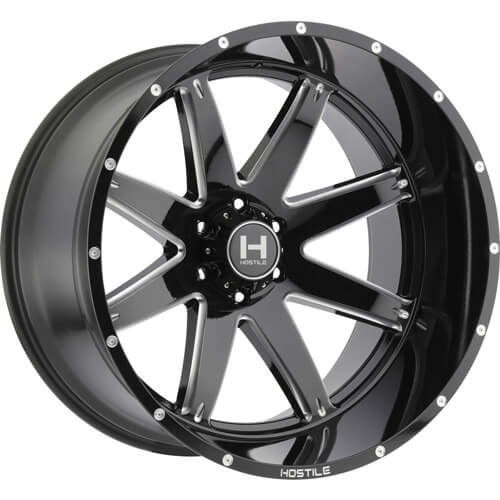 Hostile Alpha 20x9 0 Custom Wheels