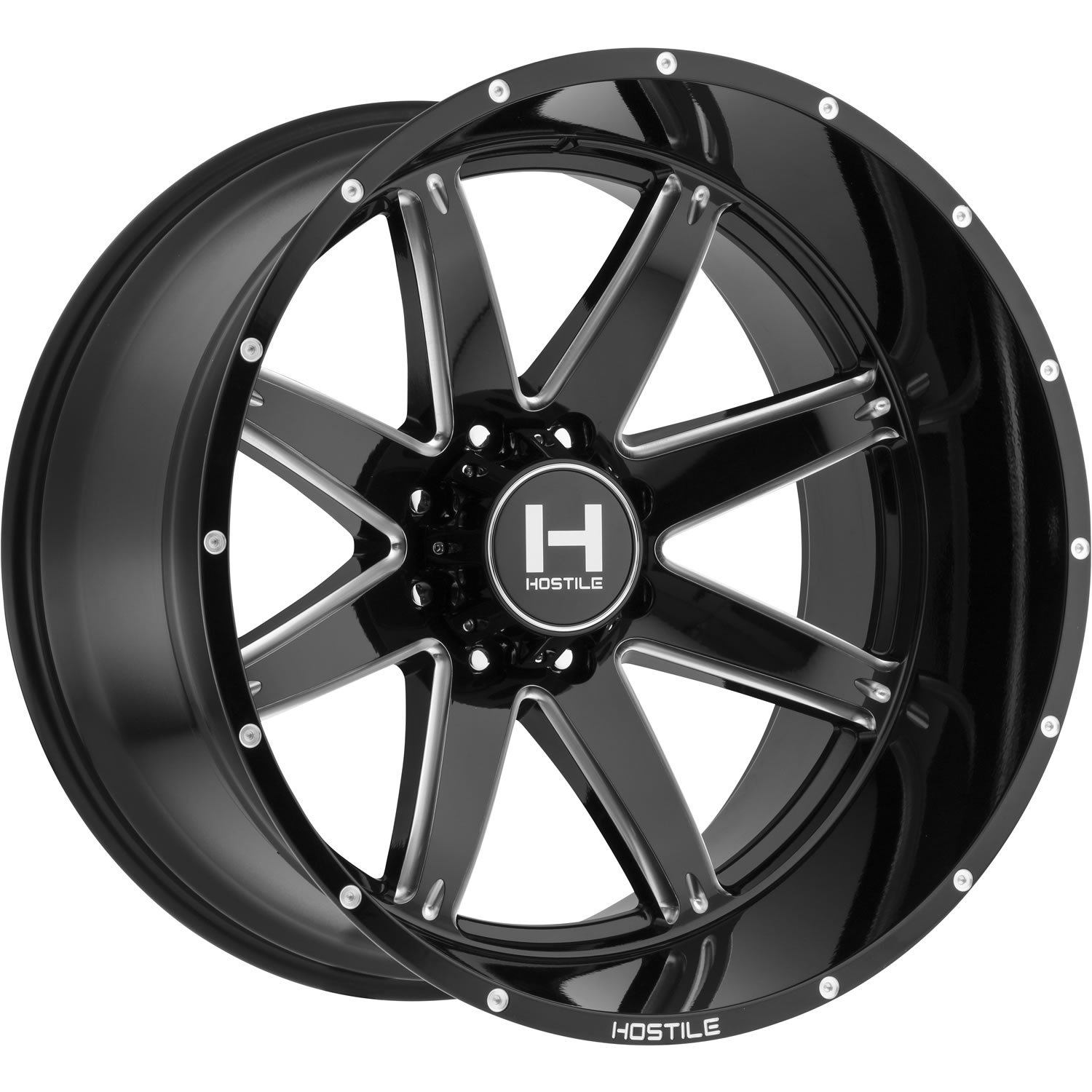 Hostile Alpha 20x12 44 Custom Wheels