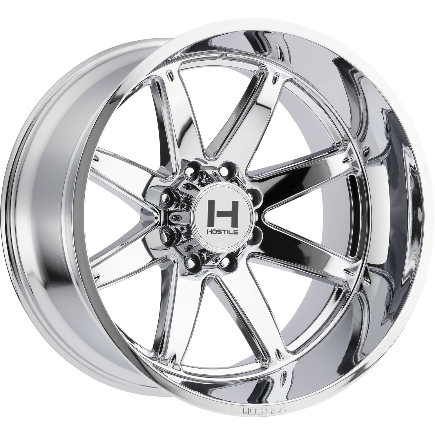 Hostile Alpha 22x10 25 Custom Wheels