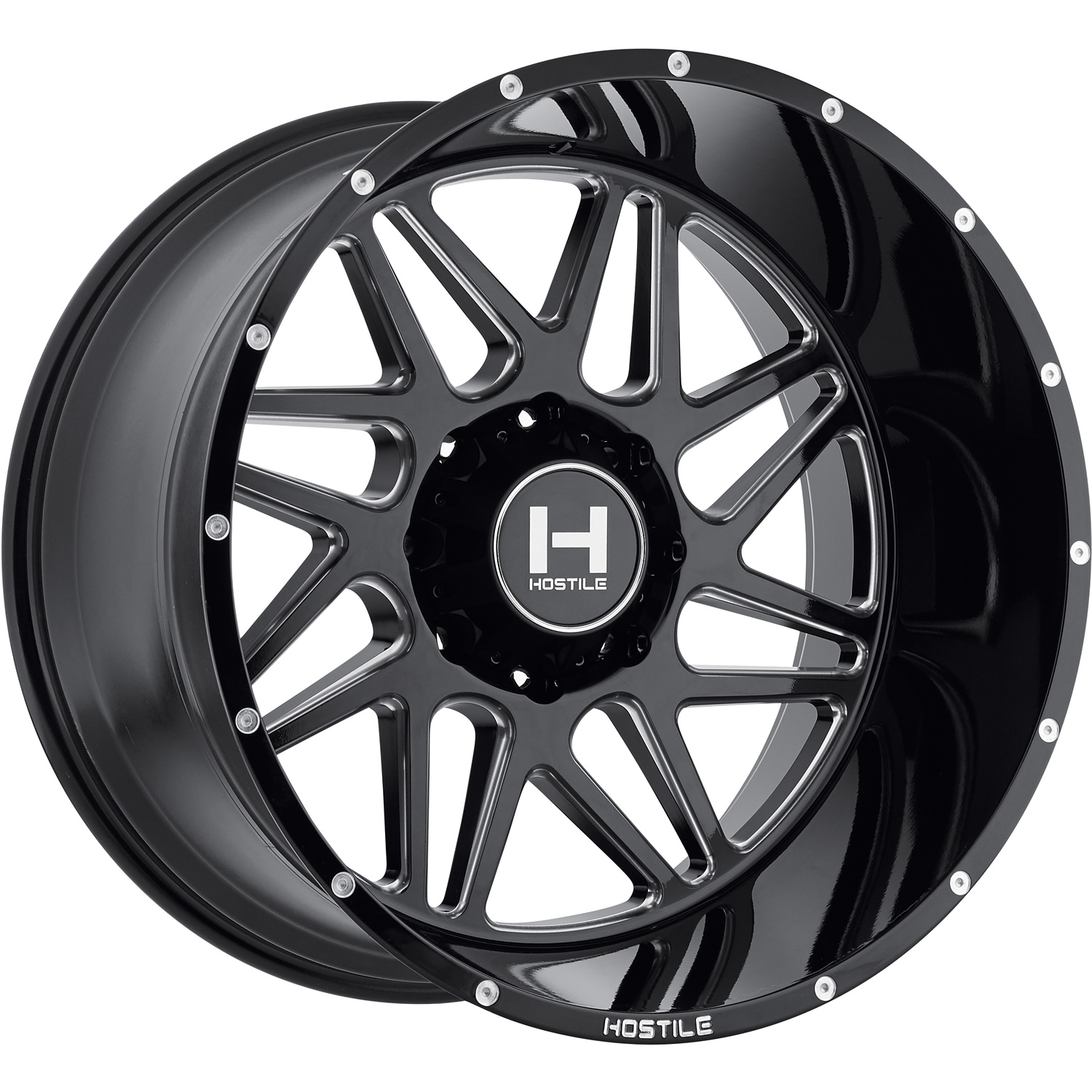 Hostile Sprocket 20x12 44 Custom Wheels