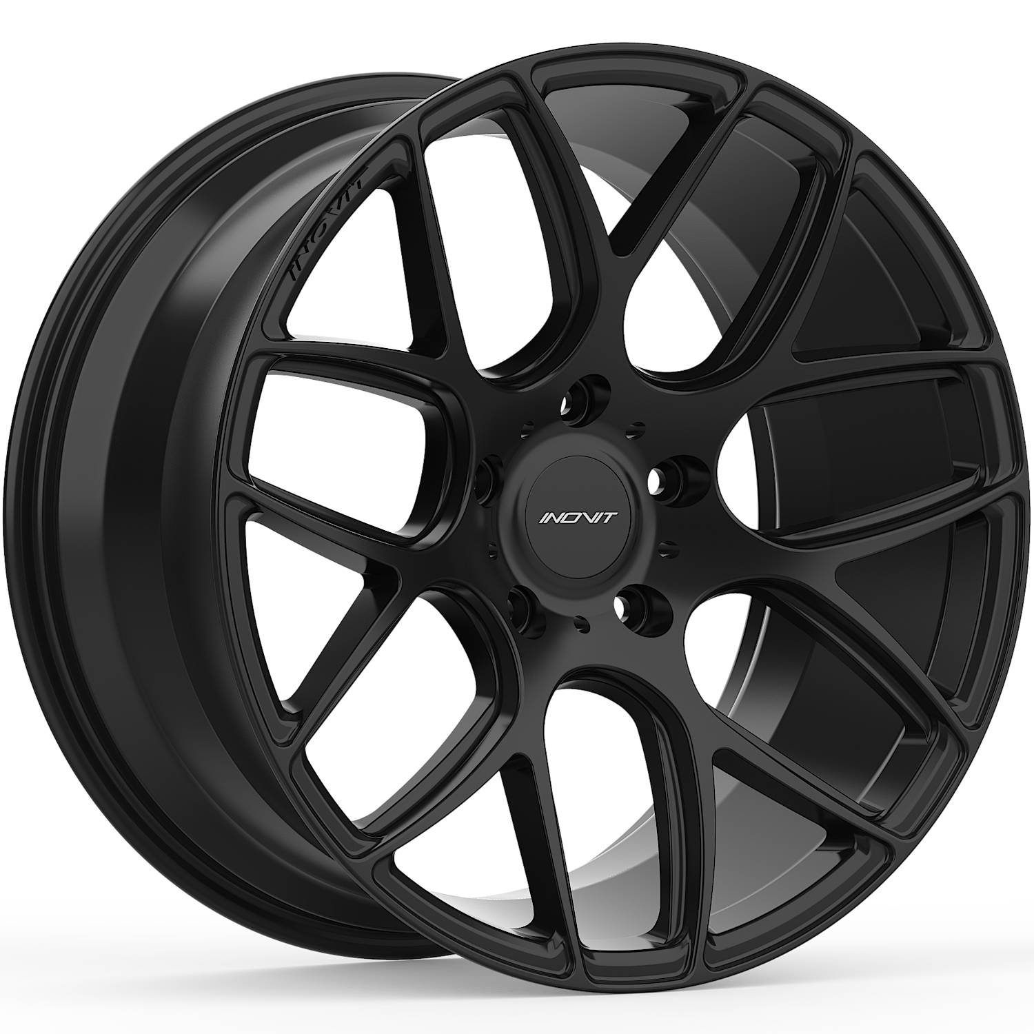 INOVIT Thrust Satin Black19x9.5 +35mm