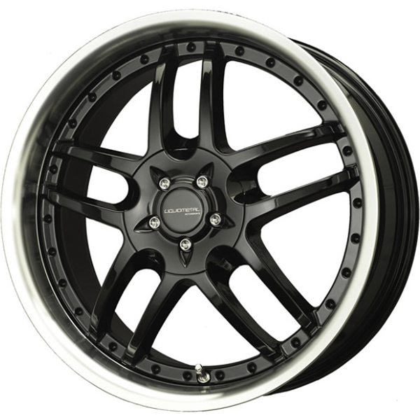 Liquid Metal Core 17x75 40 Custom Wheels