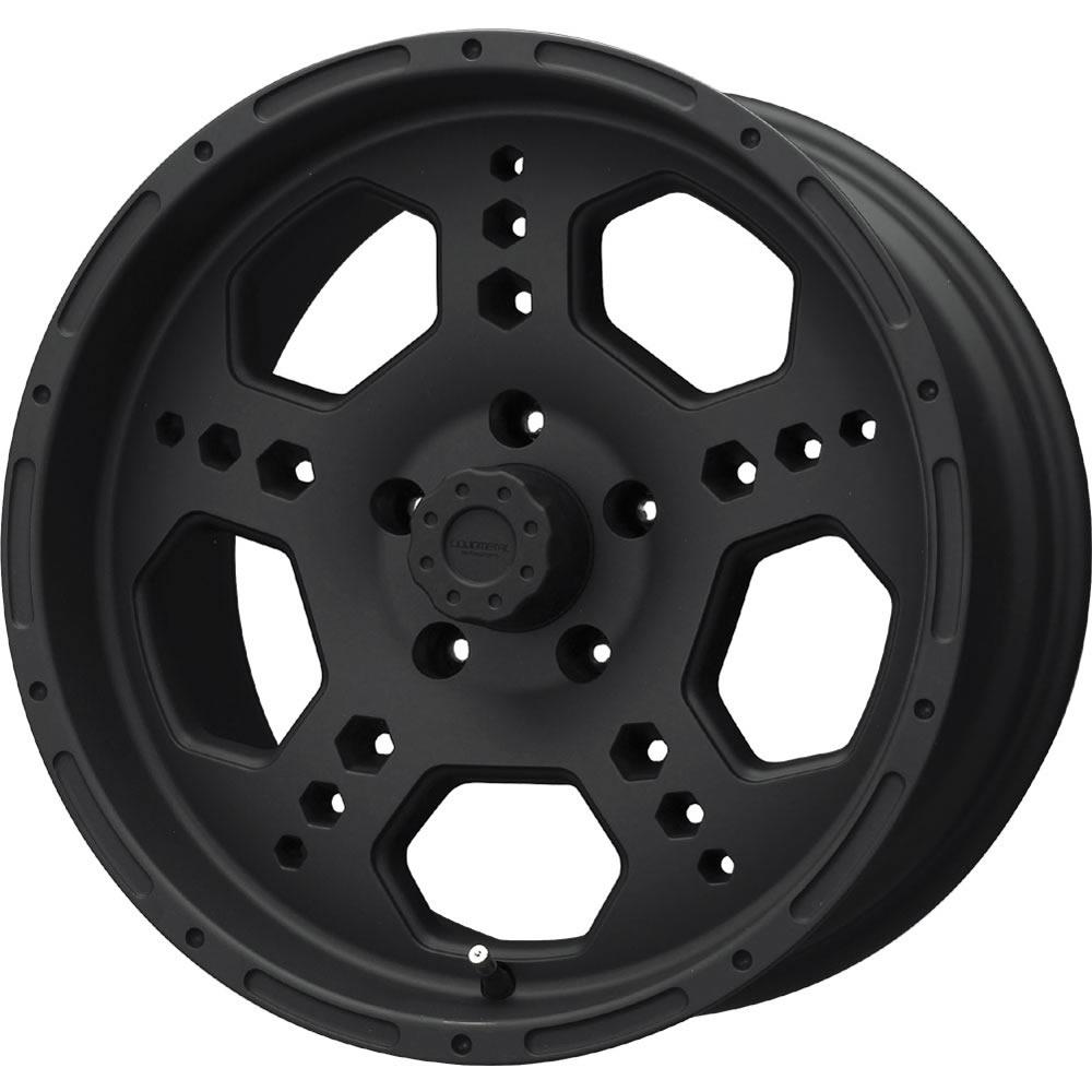 Liquid Metal Gatlin 17x9 10 Custom Wheels