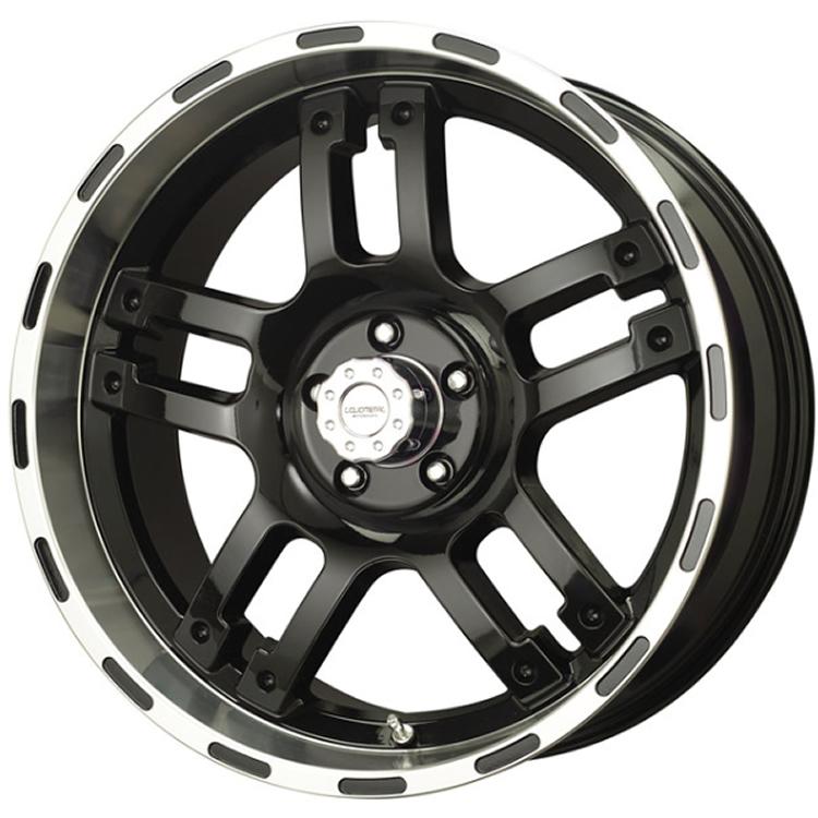 Liquid Metal Rhino 17x9 10 Custom Wheels