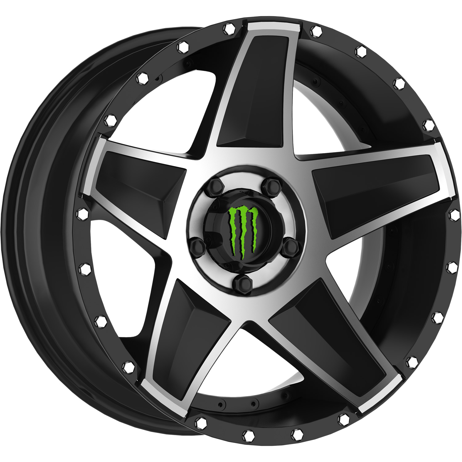 Monster Energy 648mb 20x10 25 Custom Wheels