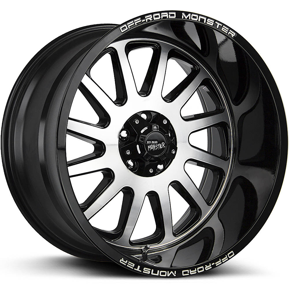Off Road Monster M17 22x12 -44