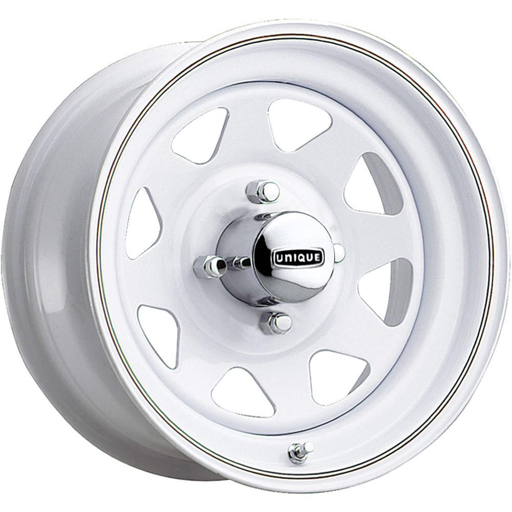 Pacer Vw White Spoke 15x8 25 Custom Wheels