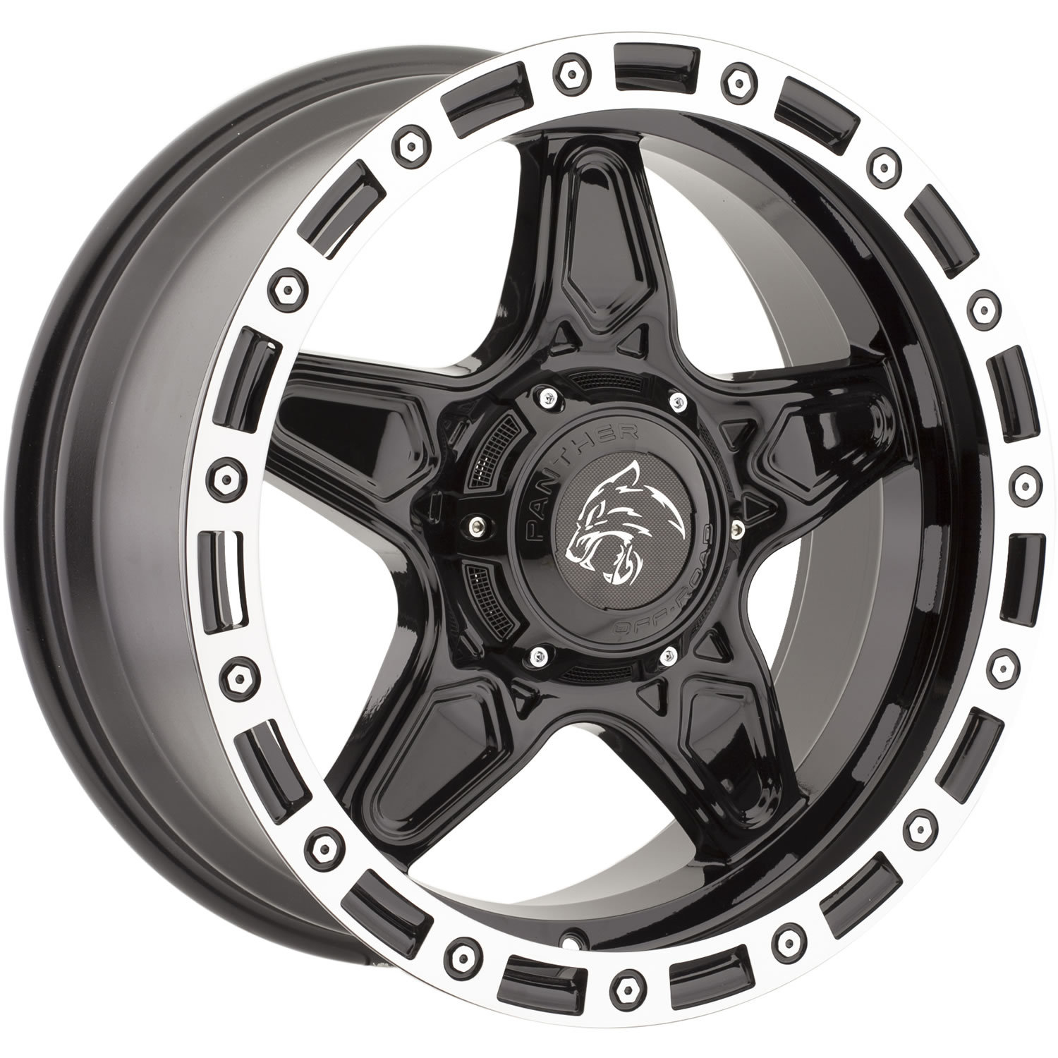 Panther Offroad 576 20x9 12 Custom Wheels