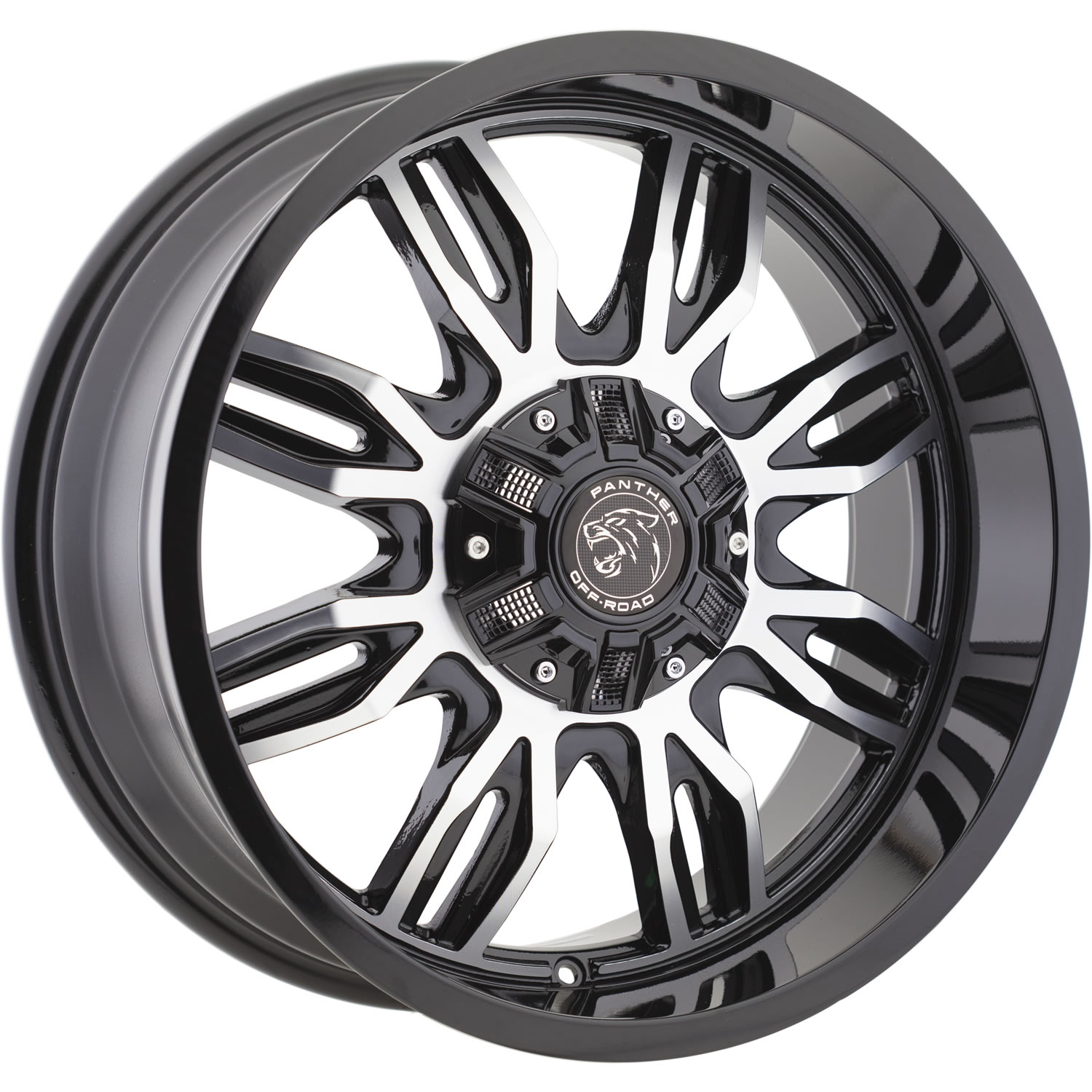 Panther Offroad 580 20x9 12 Custom Wheels