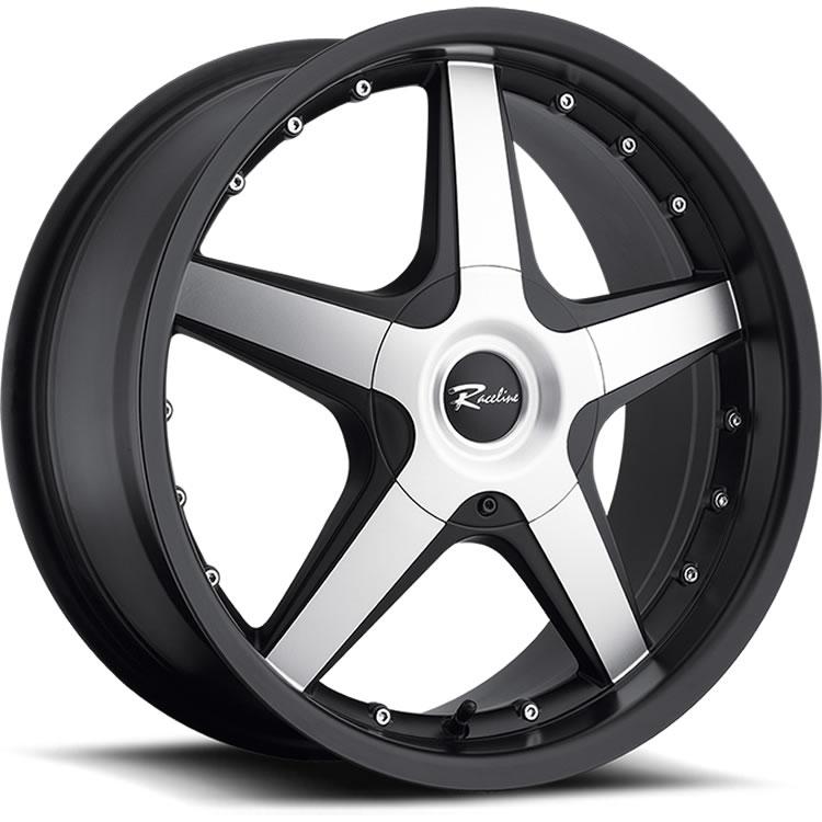 Raceline Cayman 17x75 40 Custom Wheels