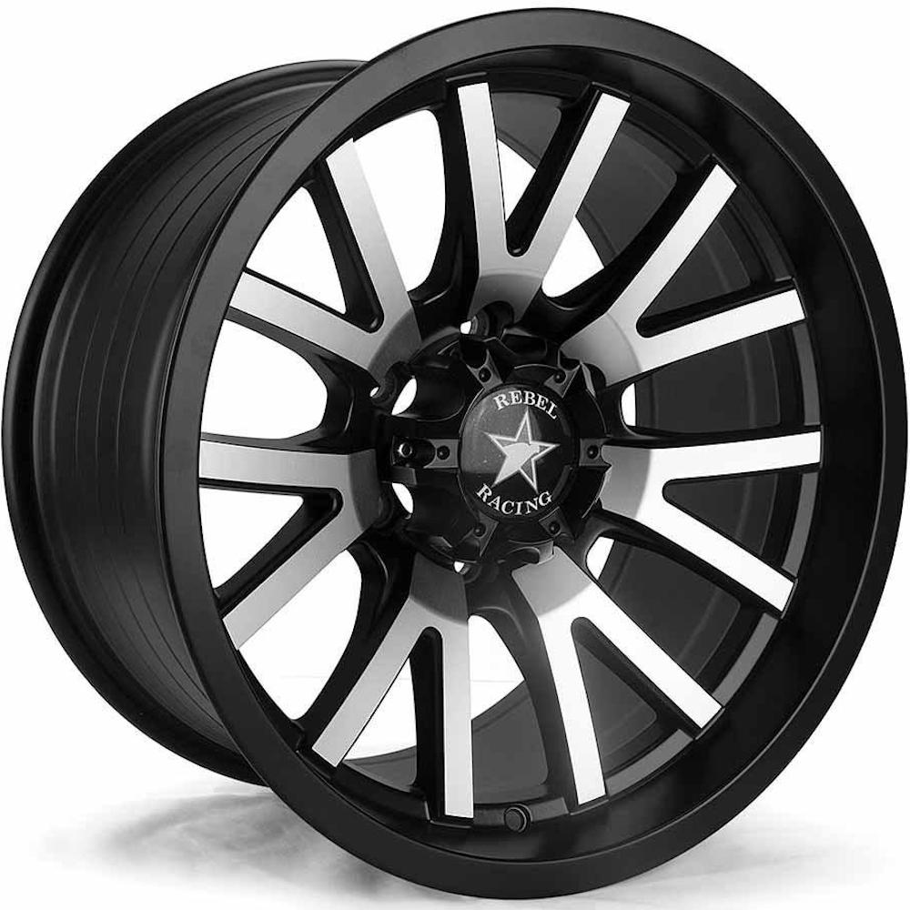 Rebel Racing Sierra 17x9 0 Custom Wheels