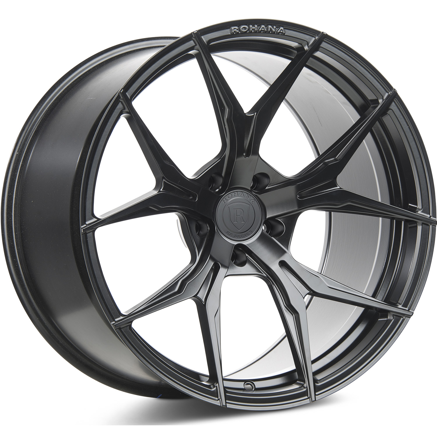 Rohana RFX5 Matte Black19x9.5 +30mm