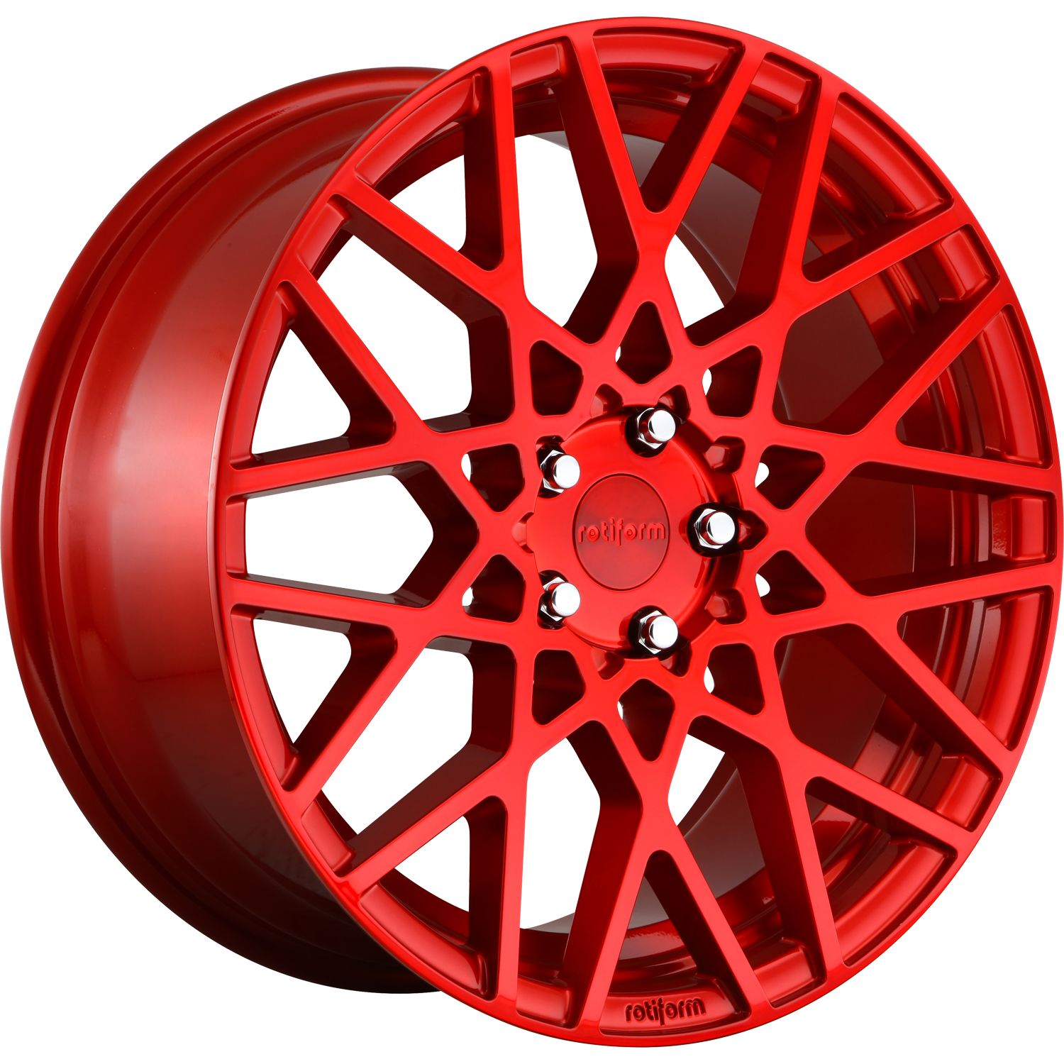 Rotiform BLQ Gloss Red 19x8.5 45