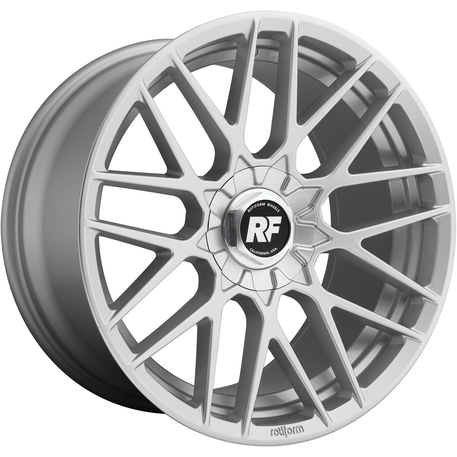 Rotiform RSE Gloss Silver19x8.5 +35mm