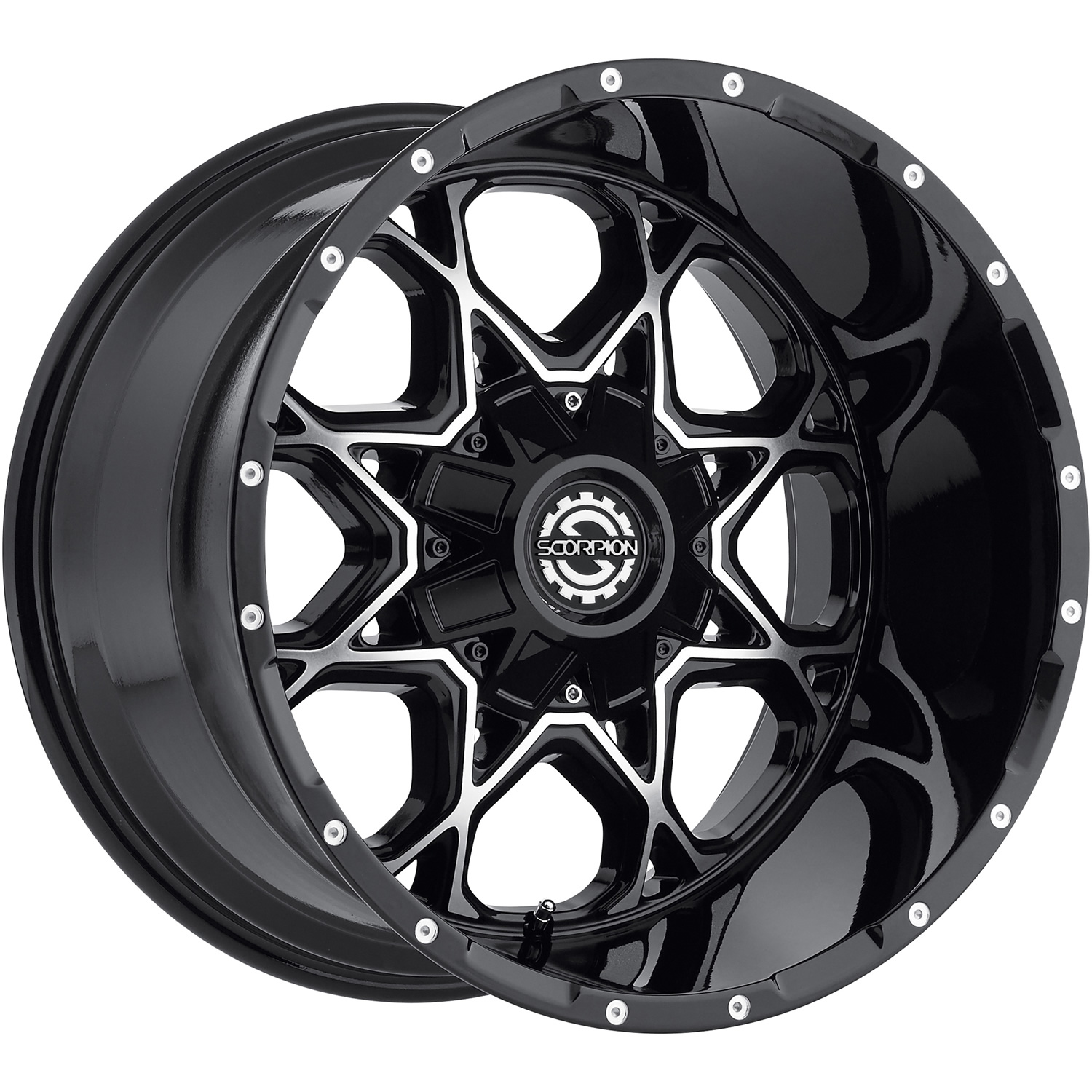 Scorpion Sc10 20x12 44 Custom Wheels