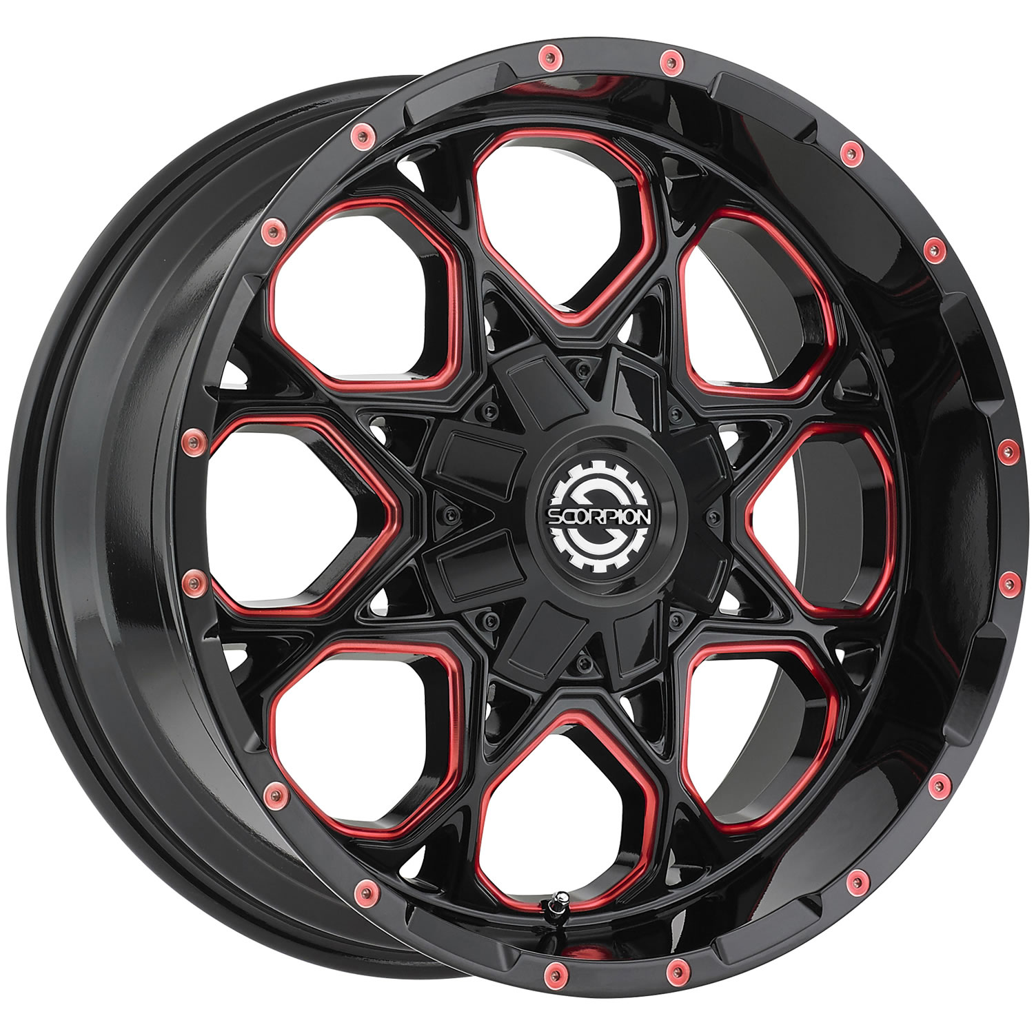 Scorpion Sc10 20x9 12 Custom Wheels