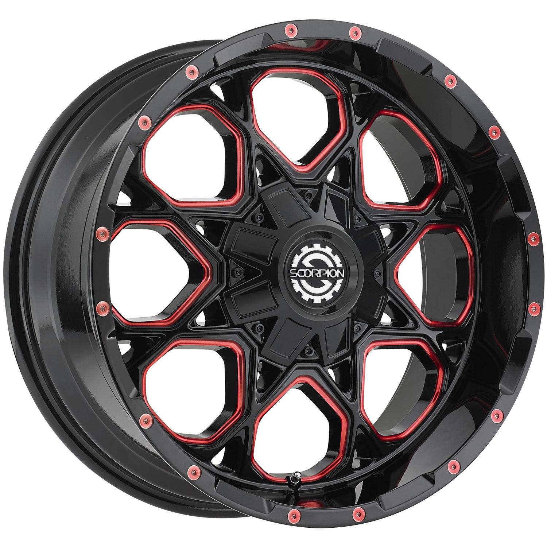 Scorpion Sc10 20x10 19 Custom Wheels