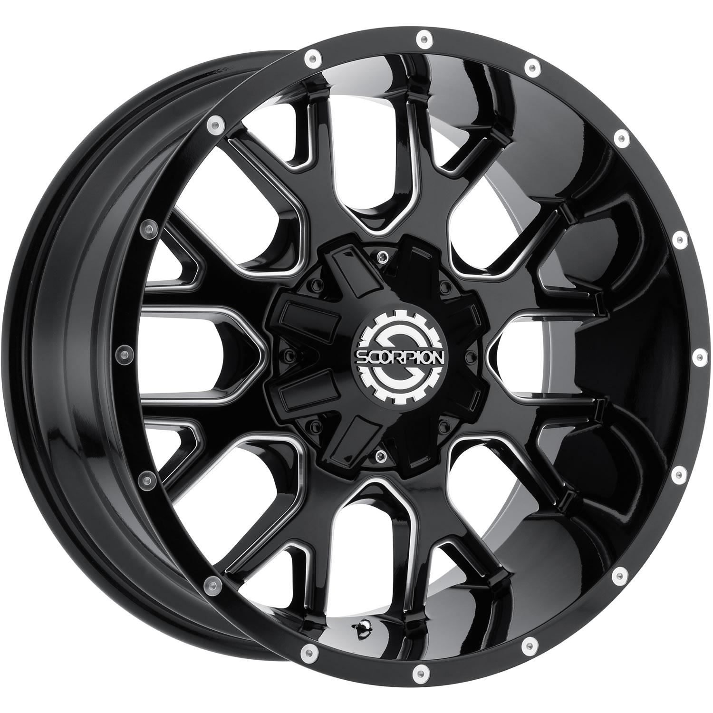 Scorpion Sc19 22x12 44 Custom Wheels