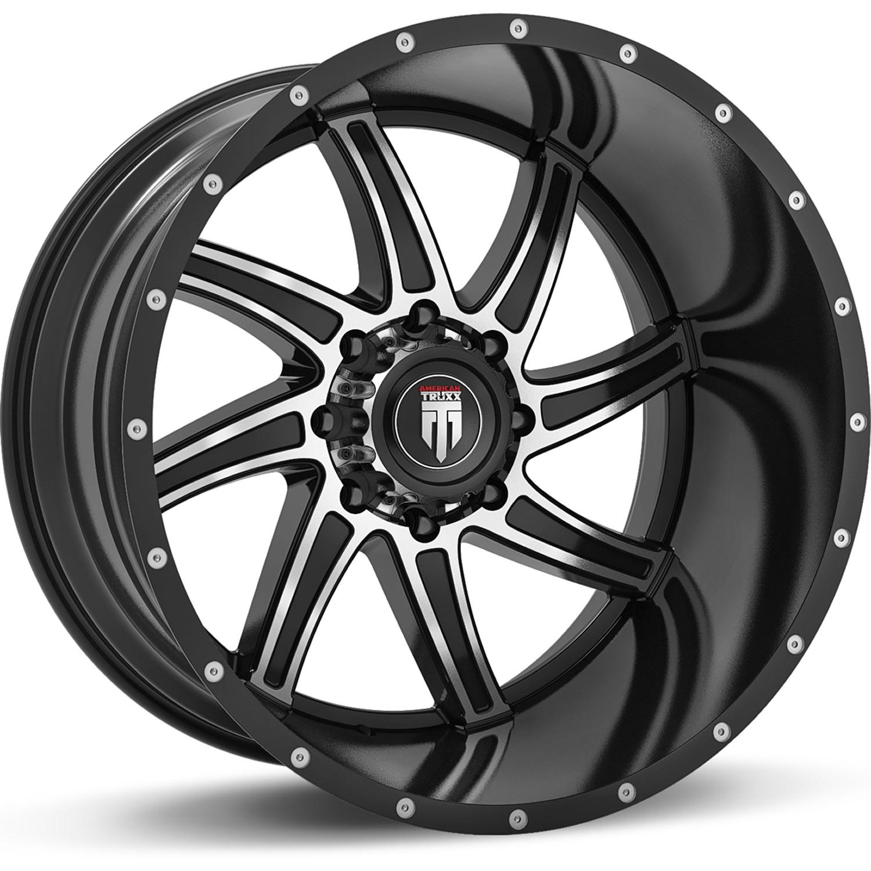 Truxx Vortex 24x14 76 Custom Wheels