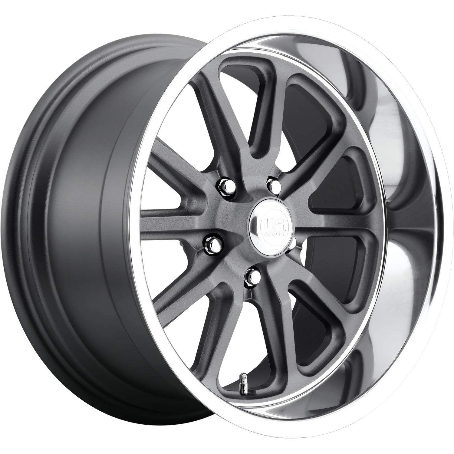 US Mags Rambler Gray with a Polished Lip 18x9.5 1