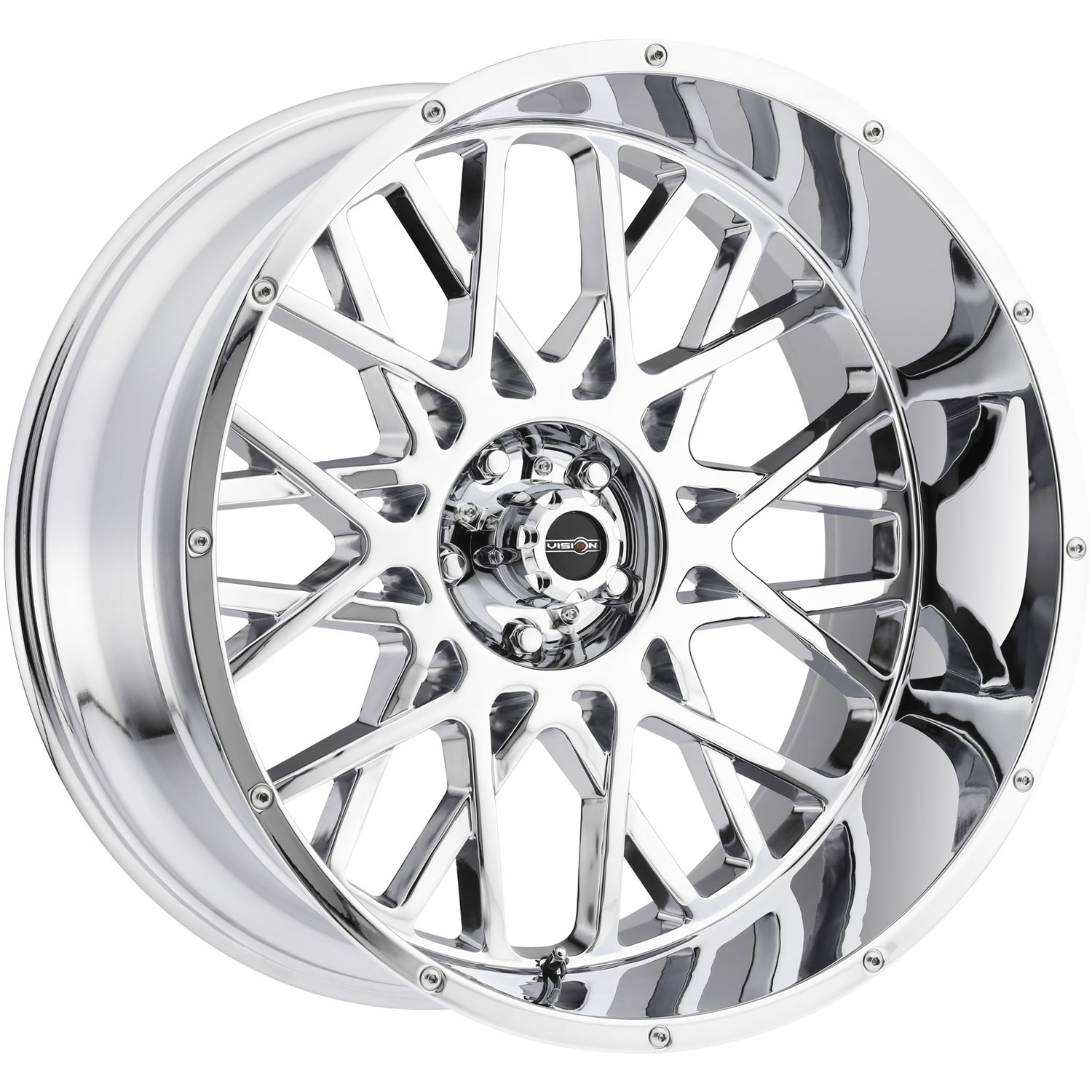Vision Rocker Chrome 20x9 12