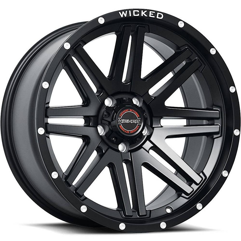 Wicked Offroad W901 20x9 -12