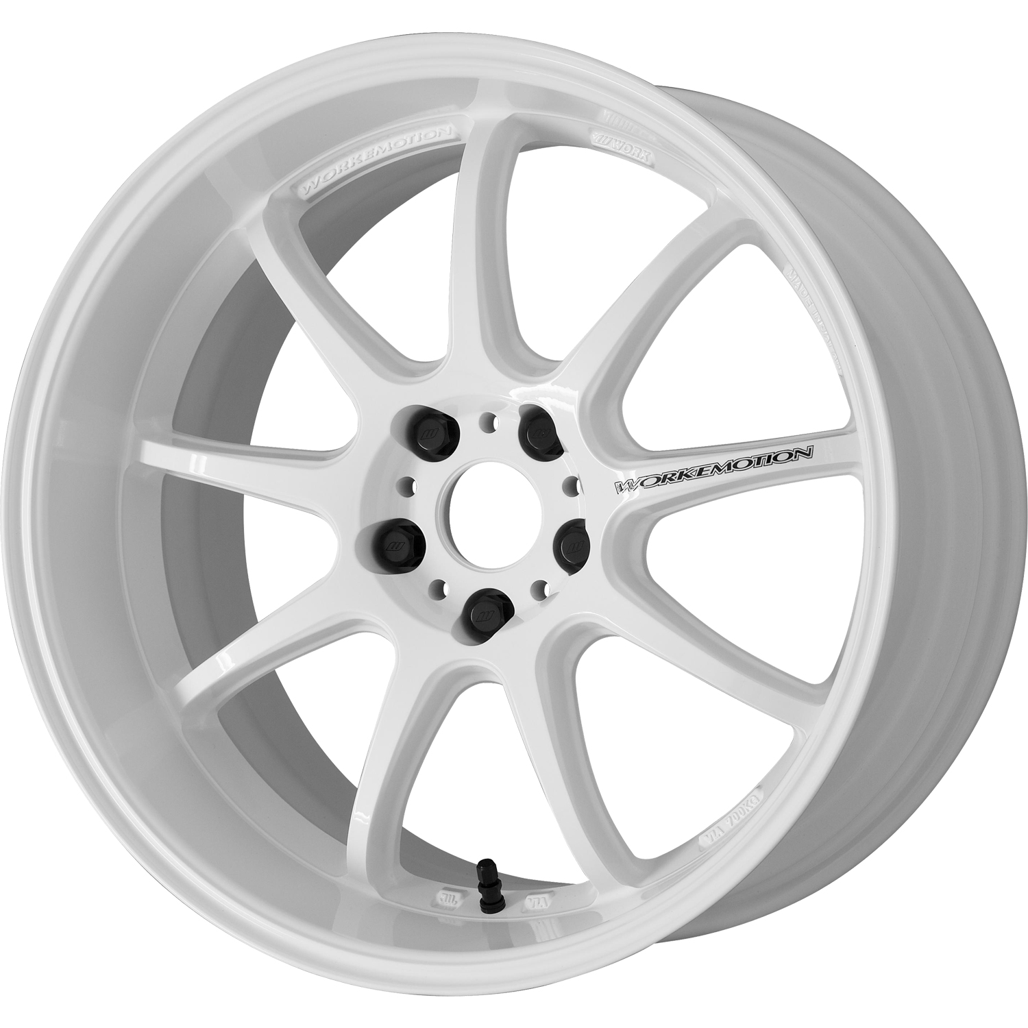 Work Emotion D9r 19x10 5 White Wheels For Sale D9r191 Fitment Industries