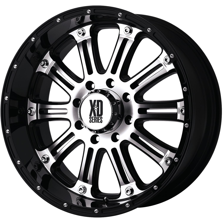xd xd795 17x9 12 custom wheels RWD Car Snow xd xd795 hoss machined black 20x9 30