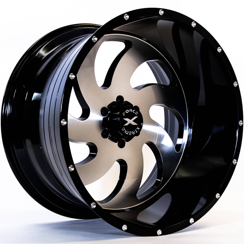 Xtreme Force Xf1 24x14 76 Custom Wheels