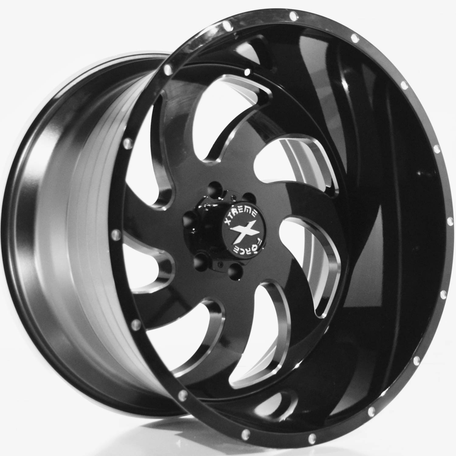 Xtreme Force Xf1 24x14 76 Custom Wheels